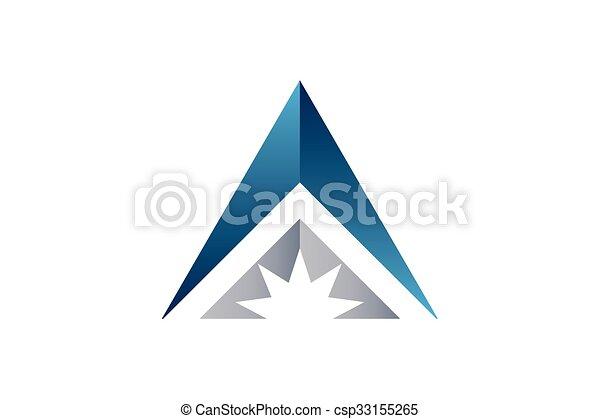 letra, design. - csp33155265