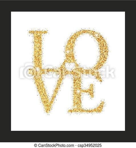 letras, adore corazón - csp34952025