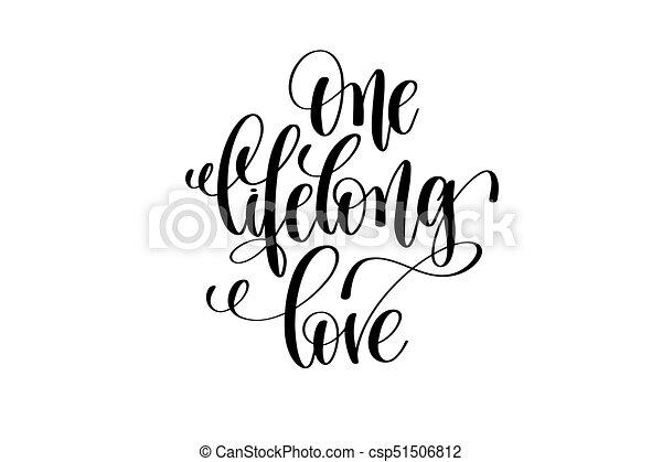 Letras Amor Inscripción Cita Mano Positivo Uno De Toda La