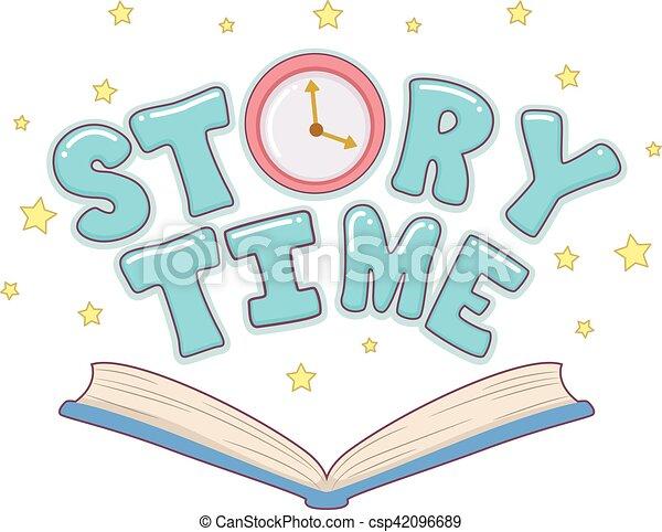 La historia del libro marca el reloj - csp42096689