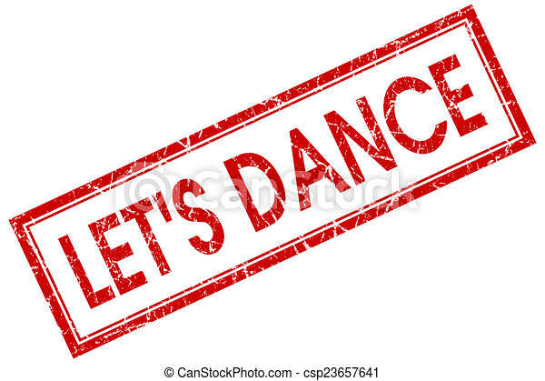lets dance red square stamp isolated on white background drawing rh canstockphoto com Sleep Clip Art Sleep Clip Art