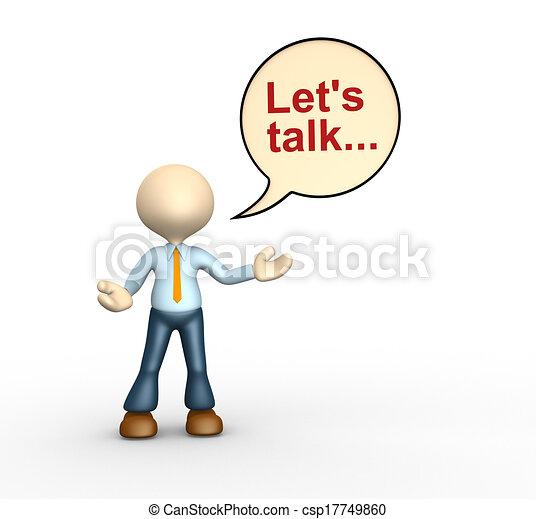 Let's talk - csp17749860
