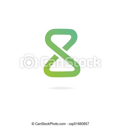 Letter A Logo Design Template Elements Symbol Of Infinity Letter