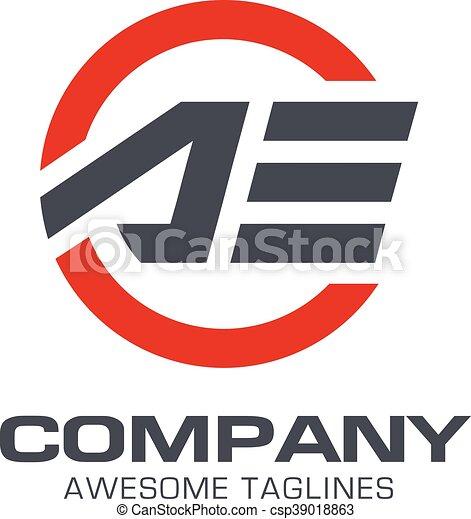 letter ae logo sport letter ae modern sport logo vector letter ae