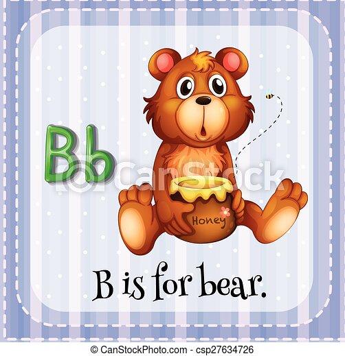 Letter B B Is For Bear