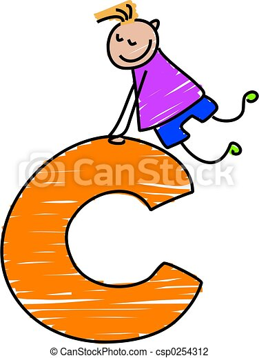 letter c boy little boy climbing on a letter c clip art search rh canstockphoto com letter a clipart black and white letter a clipart black and white