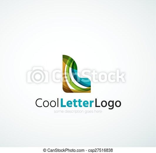 Letter company logo - csp27516838