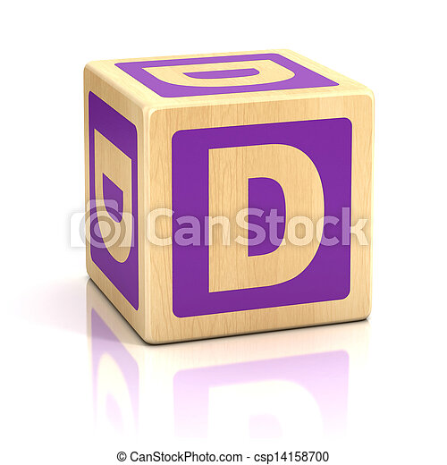 Letter d alphabet cubes font dice preschool isolated stock letter d alphabet cubes font stock photo altavistaventures Image collections