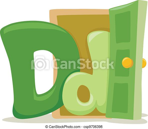 Letter D - csp9706398