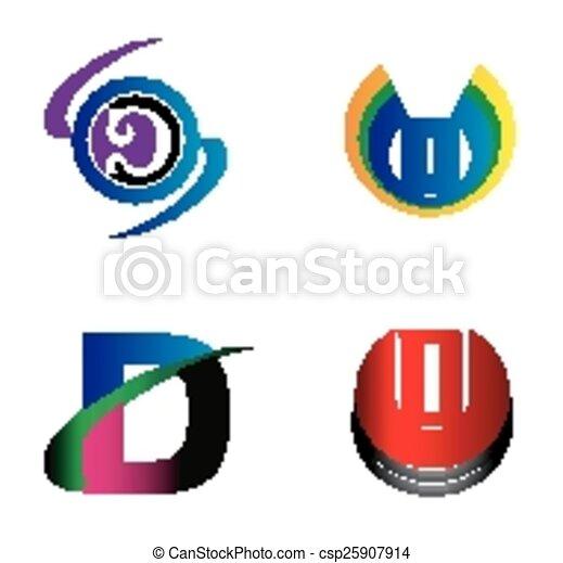 Letter d logo design sample icon set vector clip art search letter d logo design sample icon set spiritdancerdesigns Gallery