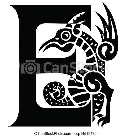 letter E - csp14518479