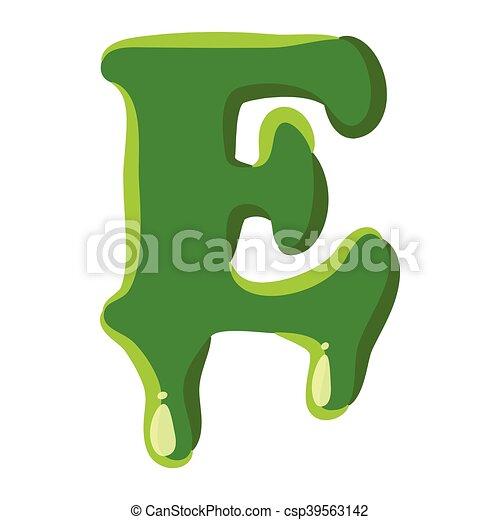 Letter Word For Green Slime