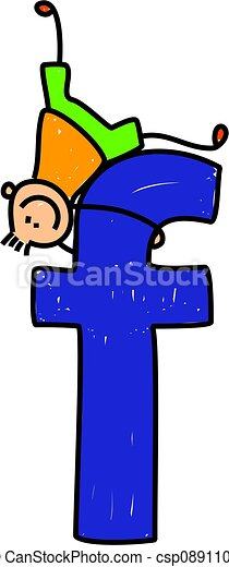 letter f boy happy little boy climbing over giant letter f stock rh canstockphoto com clipart of letter f clipart of letter of black and white