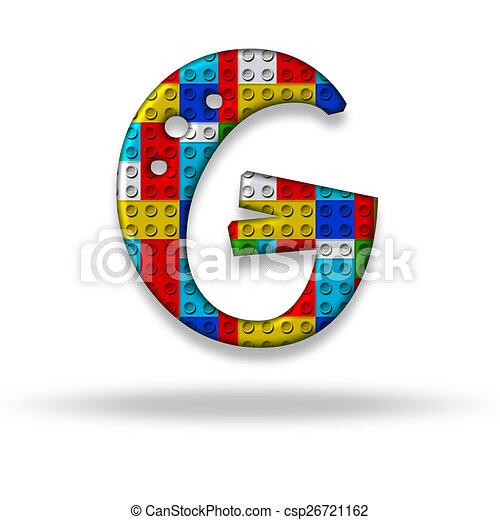 Letter G Block Designer