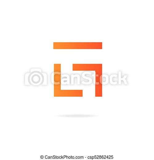 letter g logo design template elements