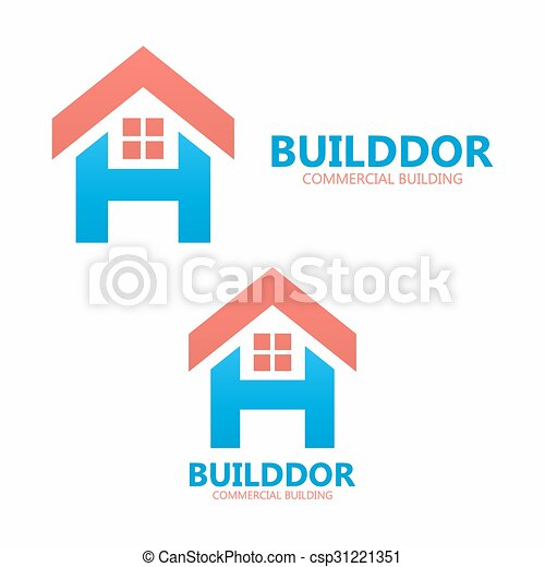 Letter h and real estate logo template vector logo or icon letter h and real estate logo template vector pronofoot35fo Gallery