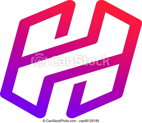 An amazing design of letter h symbol stock illustration eps vectors letter h symbol stock illustration thecheapjerseys Image collections