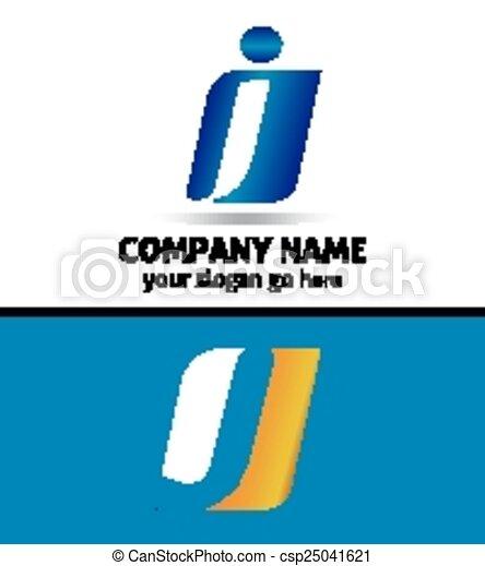 letter j company logo icon template csp25041621