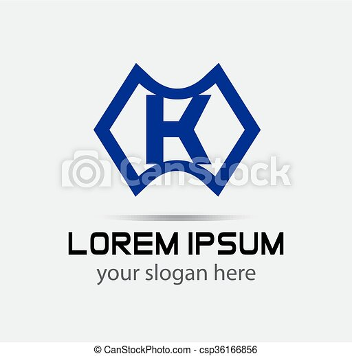 Letter k logo icon design template elements vector color clipart letter k logo icon design template csp36166856 spiritdancerdesigns Choice Image