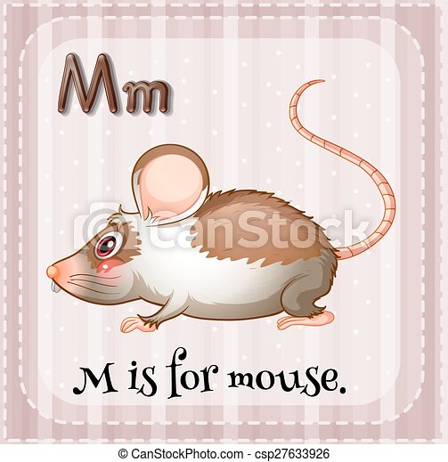 letter m m is for mouse