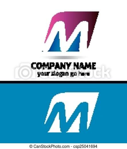 Letter M logo - csp25041694