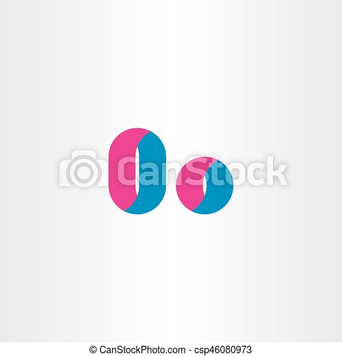 Letter O Symbol Logotype Design Elements Shape Vectors Illustration