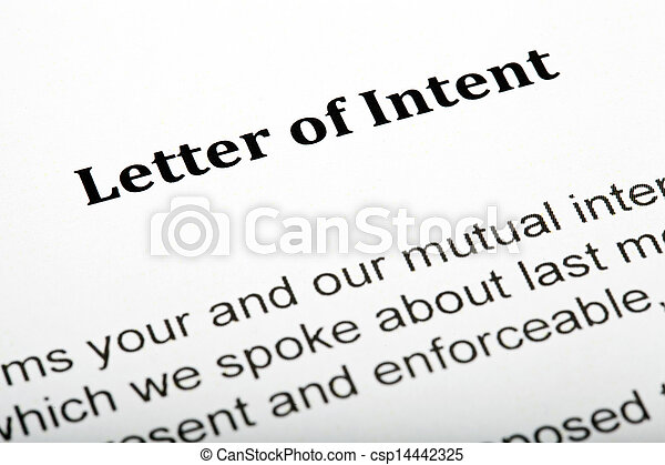 Letter of Intent - csp14442325