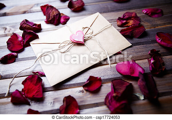 Letter of love - csp17724053