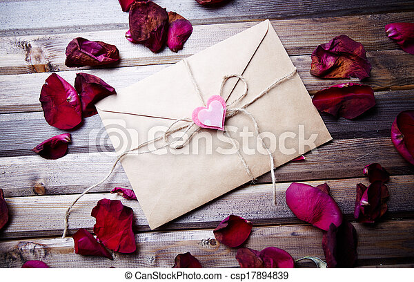 Letter of love - csp17894839