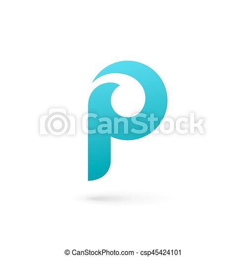 Letter p logo icon design template elements vector clipart - Search ...