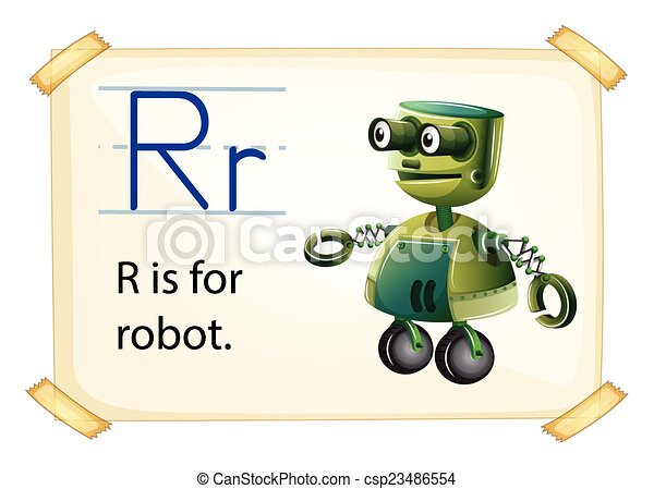 Letter R - csp23486554