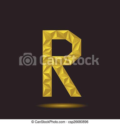 Letter R - csp26680896