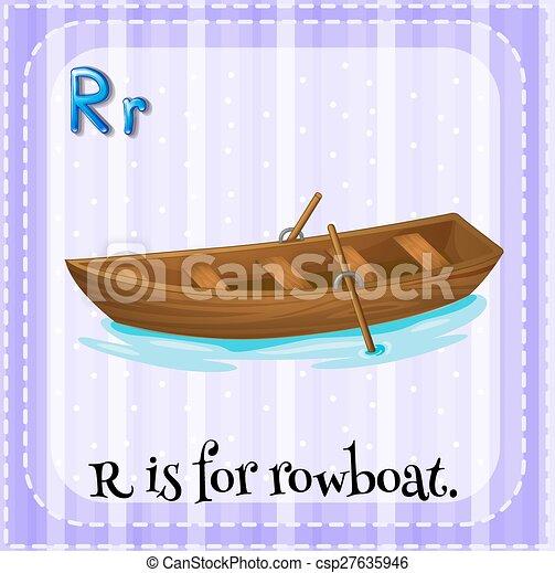 Letter R - csp27635946