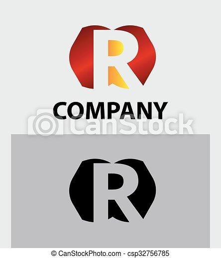 Letter R - csp32756785