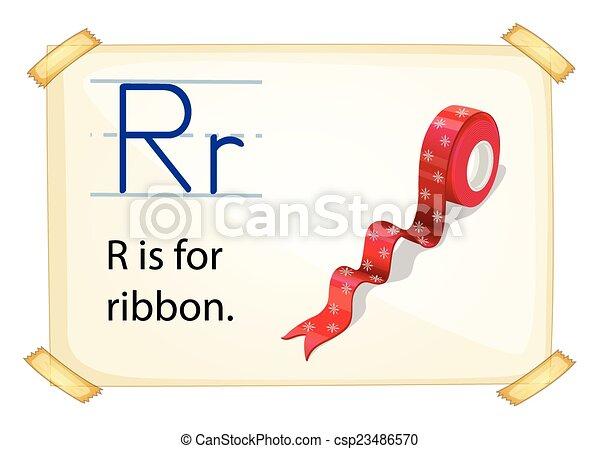 Letter R - csp23486570
