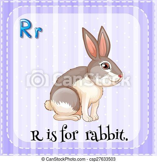 Letter R - csp27633503