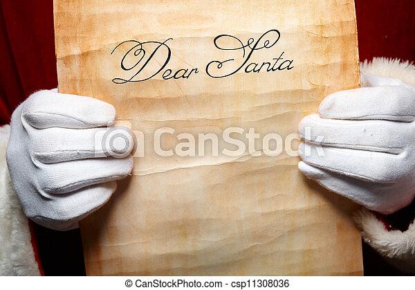 Letter to Santa - csp11308036