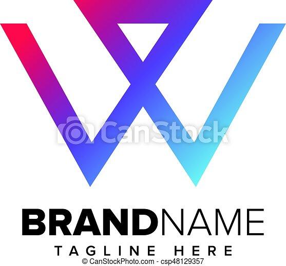 Letter W Design