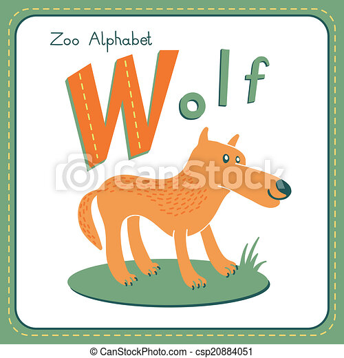 W Wolf Vector Clipart Eps Images 289 W Wolf Clip Art Vector