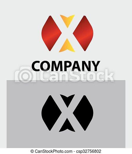 Letter X - csp32756802