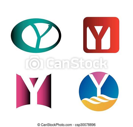 Letter y logo icon design template elements letter y logo icon design template csp30078896 maxwellsz