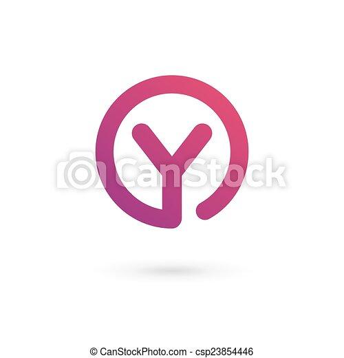 Letter y logo icon design template elements letter y logo icon design template elements csp23854446 maxwellsz