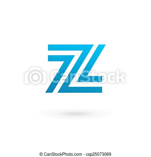 Letter Z Logo Icon Design Template Elements   Csp25073069