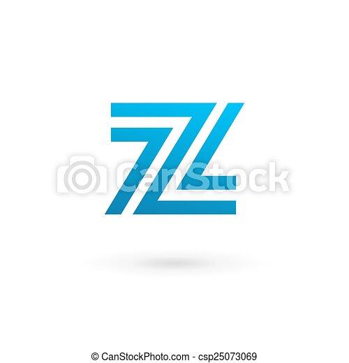 Letter Z Logo Icon Design Template Elements   Csp25073069