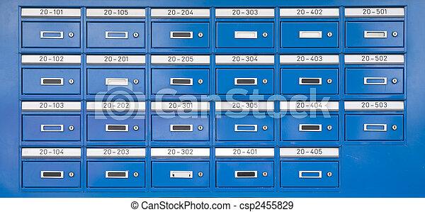 Letterboxes  - csp2455829