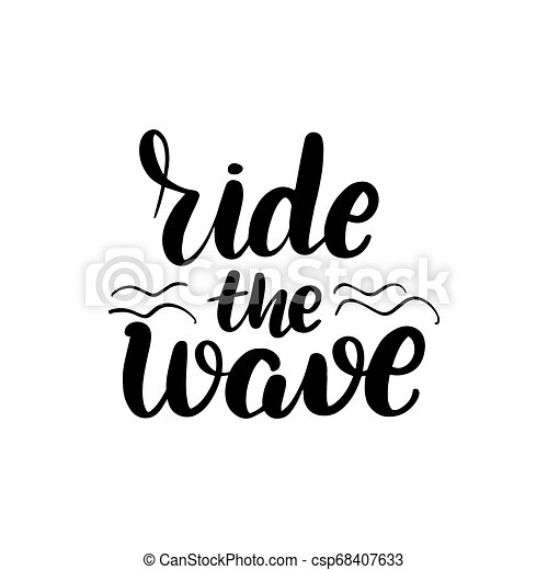 nursery print Ride the Wave Print Typography for kids