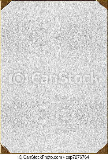 lettering, textuur, goud, huid - csp7276764