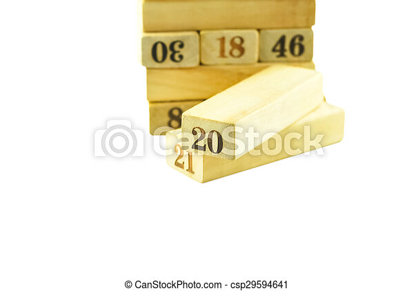 letterpress wood - csp29594641