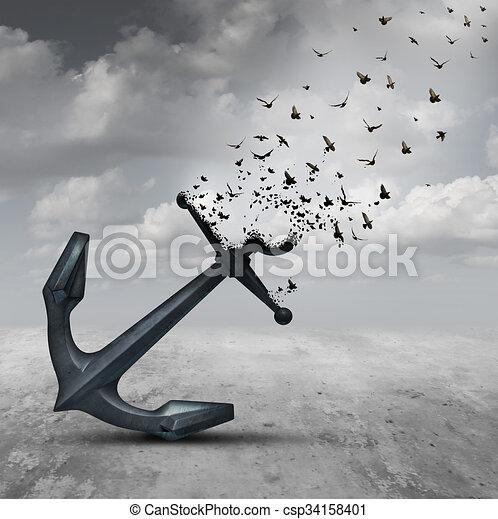 Letting Go - csp34158401