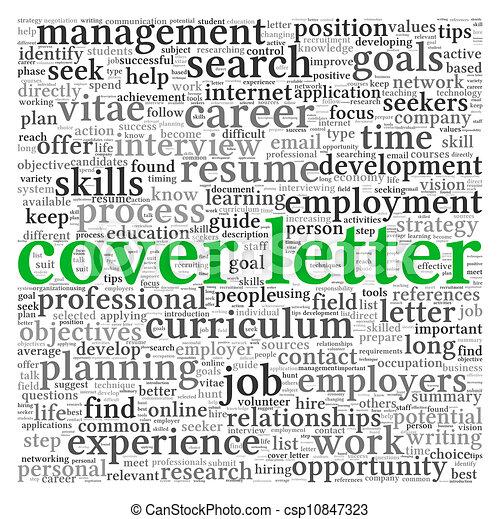 lettre, couverture, concept - csp10847323